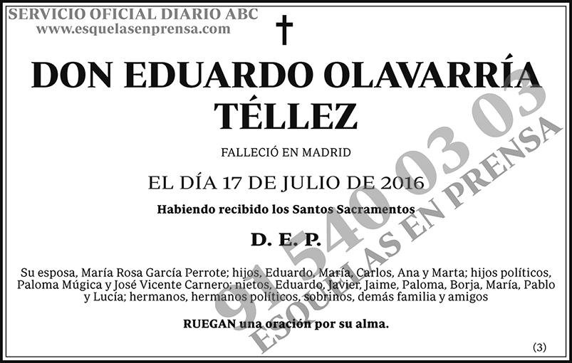 Eduardo Olavarría Téllez